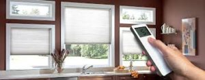 Remote Operated Motorized Curtain